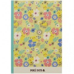 Cahier Note B5 Flower japan plush