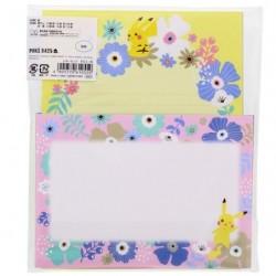 Set de Lettre Fleur japan plush