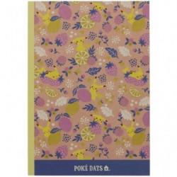 Cahier Note B5 Fruits japan plush