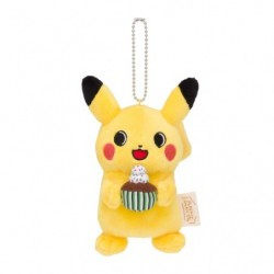 Keychain Plush Pikachu Cute Sakazaki  japan plush