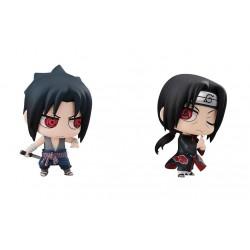 Figurine Sasuke Uchiha Itachi Brothers Naruto Shippuden japan plush