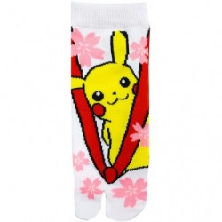 Traditional Socks Flower Pikachu japan plush