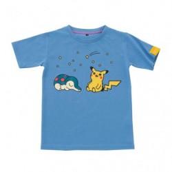 T Shirt Pokémon Life Hericendre Pikachu japan plush