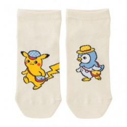 Chaussettes Pokémon Life Pikachu Walk japan plush