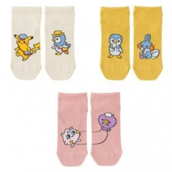 Chaussettes Pokémon Live 3 Set V1 japan plush