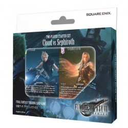Battle deck Cloud vs Sephiroth FINAL FANTASY TCG English japan plush