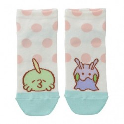Short socks Gulpin and Goomy Motchiriman Maru japan plush