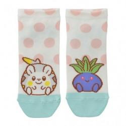 Short socks Togemaru  Oddish Motchiriman Maru japan plush