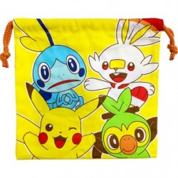 Drawstring bag Pokémon friends japan plush