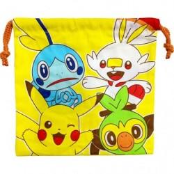 Drawstring bag Pokémon friends japan plush