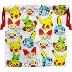 Drawstring bag Pokémon ippai japan plush