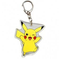 Porte-clés acrylique Pikachu Clin d'oeil japan plush