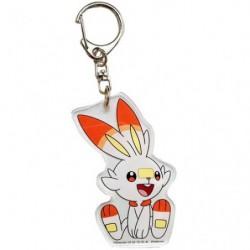 Acrylic keychain Scorbunny japan plush