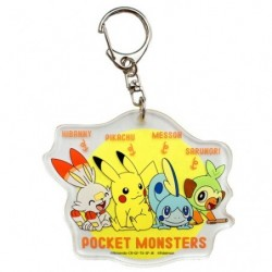 Acrylic keychain Pokémon meeting japan plush
