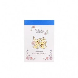 Mini memo flower Pikachu number025 japan plush