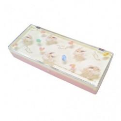 Boîte à stylo Placole Évoli Mofu Mofu Eievui japan plush