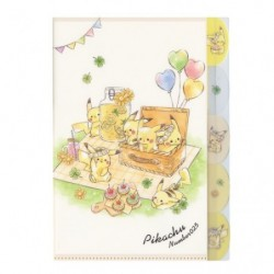 Pochette Transparente Pikachu number025 Picnic japan plush