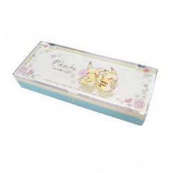 Plastic Box Pikachu number025 Flower japan plush