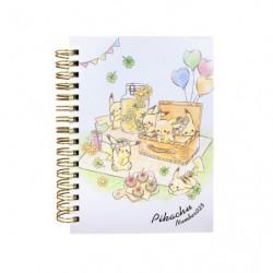 Cahier Note Pikachu number025 Picnic japan plush