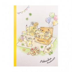 Cahier Note Pikachu number025 Picnic