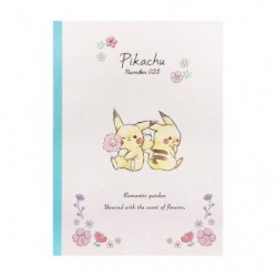 Cahier Note Pikachu number025 Flower japan plush