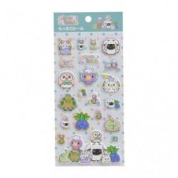 Stickers moelleux Motchiriman Maru japan plush