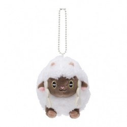 Plush keychain Wooloo Mocchiriman japan plush