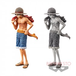 Figure Luffy Bare Chest One Piece japan plush