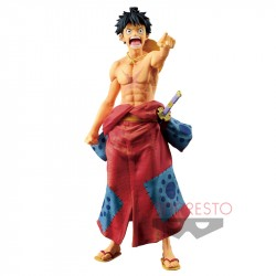 Figure Luffy Samourai Wa no Kuni One Piece japan plush