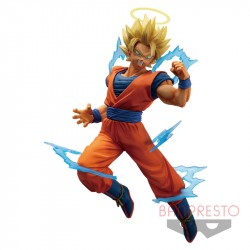 Figurine Goku Super Saiyan 2 Halo Dragonball japan plush