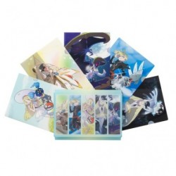 A4 Clear File 5xSet japan plush