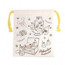 Long Pocket Pikachu number025 Picnic japan plush