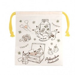 Longue Pochette Pikachu number025 Picnic japan plush