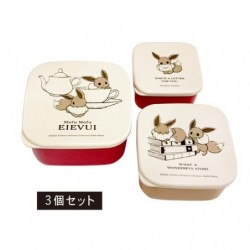 Lunch Box Set Mofu Mofu Eevee British japan plush