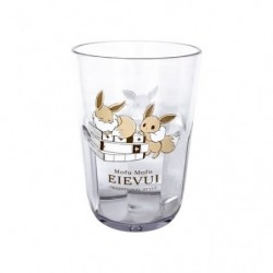 Clear Tumbler Mofu Mofu Eevee British A japan plush