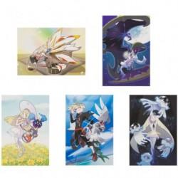 Postcard 5xSet japan plush
