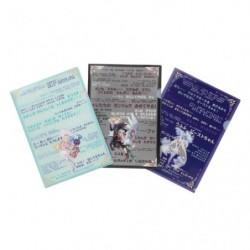 Pochette Transparente 3xSet japan plush
