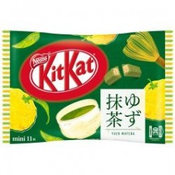 Kit Kat Mini Yuzu Maccha japan plush