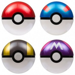 Figurine Moncolle Set MB-01-04 Pokeball japan plush