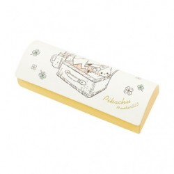 Glasses case with Tissue Pikachu number025 Picnic japan plush