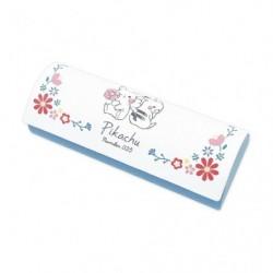 Boite a Lunette avec Tissu Pikachu number025 Fleur japan plush