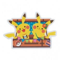 Sticker Pokemon Colorfultrip Pikachu japan plush