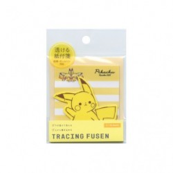Sticky note Pikachu number025 japan plush