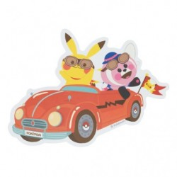 Sticker Pokemon Colorfultrip B japan plush