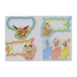 Sticker Set Pokemon Mystery Dungeon Rescue Team DX B japan plush