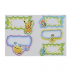 Sticker Set Pokemon Mystery Dungeon Rescue Team DX A japan plush