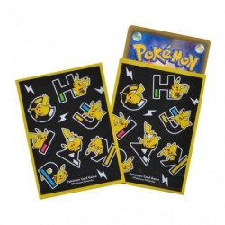 Card Sleeves PIKAPIKACHU BK Pokemon TCG Japan japan plush