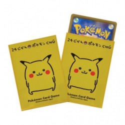 Card Sleeves Pikachu 24 Jikan Pokemon TCG Japan