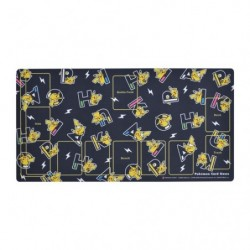 Rubber Play Mat PIKAPIKACHU BK japan plush