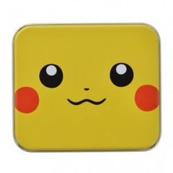 Case Pikachu Face Pokemon Card Game japan plush